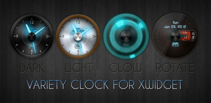 Variety Clock for XWidget by boyzonet
