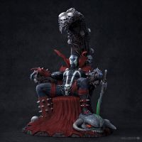 Hell Spawn Color by sancient