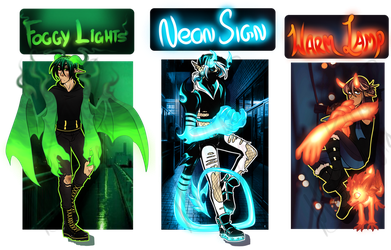 All These Lights - Spectral Guest Auction - 1 OPEN by Mizuki-Cho