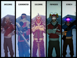 A ture guys heroes by AgentVigilante