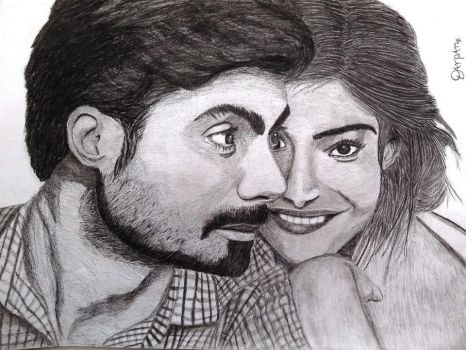 Disney's Khoobsurat: Fawad Khan and Sonam Kapoor by Darpansinghh