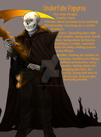 .: UnderFate Papyrus :. by Kimmys-Voodoo