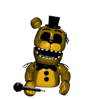 Puppet Withered Golden Freddy by 133alexander