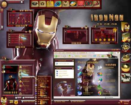 Iron Man The Movie Suite by Calal