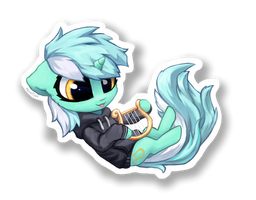 Chibi Lyra sticker by INowISeeI