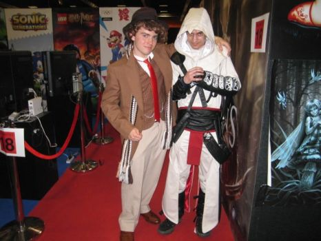 Doctor Who and Assassins Creed by ecwecwecw1