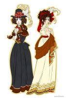 1790's Dresses by Seitou