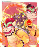 Bowser and Biswap! Bowser by C0ZZM0