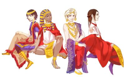 [APH] The Four Ancient Civilizations by ChinChuan