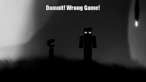 [Minecraft] Wrong Game! by Paranoia3460