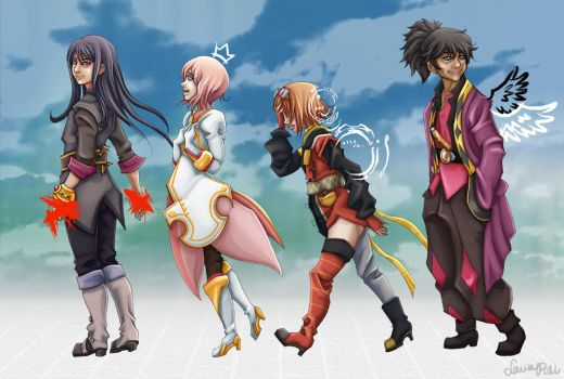 Tales of Vesperia by Spiccan