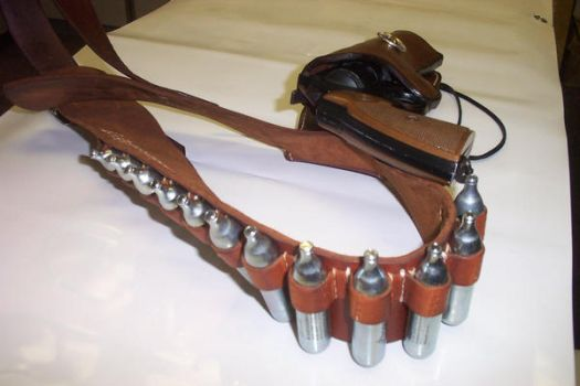 Leather Western Holster2 by Kristov-Gregoriovich