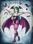 Morrigan by CROMOU