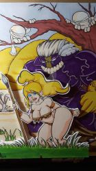 the Maxx and Leopard Queen  by Chainsaw-Munkey