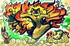 Typhlosion swirl by pAtChEzS