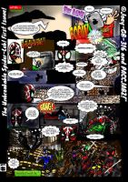 The Unbreakable Spider-Leb: FIRST PAGE!! by Joey-GB-316