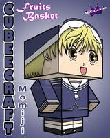 Cubeecraft of Momiji Sohma from Fruits Basket 3D by SKGaleana