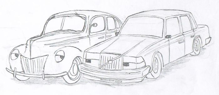Ford and Volvoly by Flash4u13