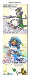 LOL: The Masculine Sona - Part 1 by phsueh