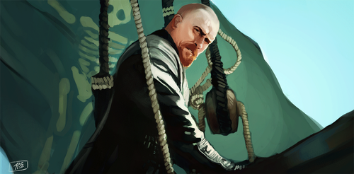 Captain Flint by Ennamor