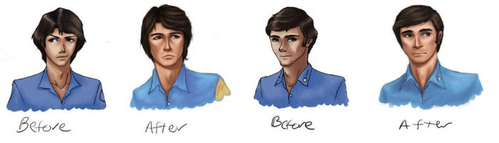 Before and Afters by Raenstrife