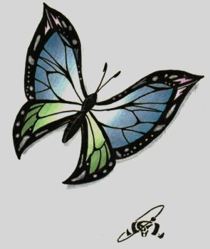 Butterfly by Socren