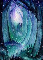 In the Fangorn Forest by Kinko-White