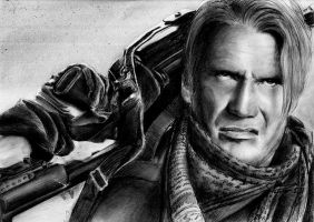 LUNDGREN - the expendables by LivieSukma