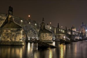Charles Bridge - Prague hdr by lesogard