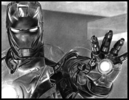 Iron Man 2:Mark II by MIKELopez