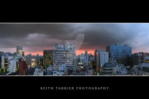 Fire Sunset of Tokyo by Keith-Killer