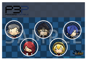 Persona 3 Button by VernCode