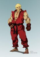 Ken Masters by machinegunkicks