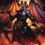 Calcab, Malebranche of the Burning Abyss by Freezadon