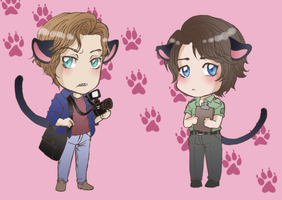 Chibis by Takhesis