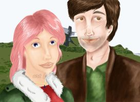 Tonks and Lupin by Amyln