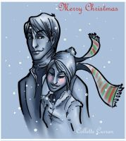 Christmas Couple by Parcel-Sisters