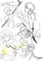 RotG:  Jamie sketches by CharlieMcCarthey