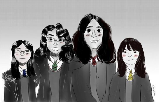 A Present for a Friend: Harry Potter Portrait by Chainisa