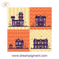 Haunted Houses by DreamPigment