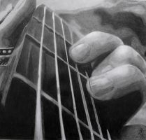 The guitarist by AnnieWay8