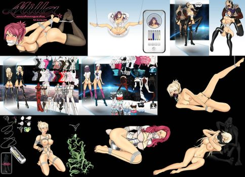 Milla Automata Doll V9 download by LessRuth