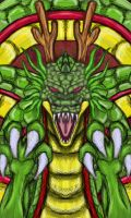 Dragonball Z Shenron by dragonfire53511