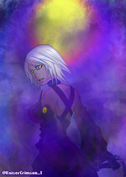 Kingdom Hearts - Aqua who embraced the Darkness by PlayerRed-1