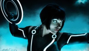 Tron Legacy: Quorra by Limperator