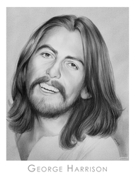 George Harrison by gregchapin