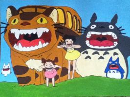 My Neighbor Totoro by IsDawg