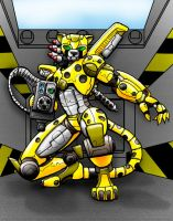 Mecha Cheetah by LancerAdvanced