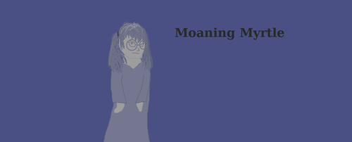 Moaning Myrtle by tigerclaw64