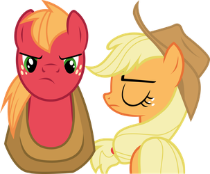 Big Mac and AJ - For Shame, Partner by Firestorm-CAN